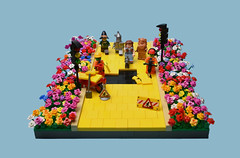 Follow The Yellow Brick Road Works (MinifigNick) Tags: lego afol yellowbrickroad the thewizardofoz minifigures minifig moc