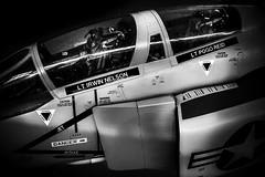 McDonnell Douglas Phantom (aquanout) Tags: airplane aeroplane jet blackandwhite monochrome bw aviation plane