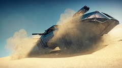 Sand Devil (shootmyscreen) Tags: madmax madmaxgame virtualphotography pcgaming gamephotography screenshot screenshots gamescreenshots avalanchestudios oldcar desert