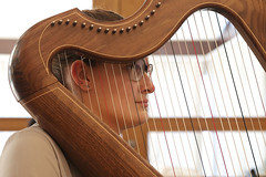 2 of Harps 1656 (Tony Withers photography) Tags: musicians harpists duo adel karina wilson music
