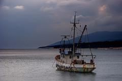 Plavica (JLM62380) Tags: croatia mer sea sky clouds rabac istria istrie boats rain boat intempérie bateau eau plavica