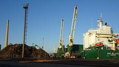 0417 Alteisenverlad am Hafen - scrap metal being shipped, Port Pirie (roving_spirits) Tags: australia australien australie southaustralia