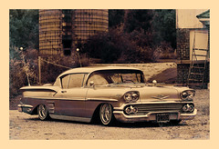 IMG_5867 copie (C&C52) Tags: paysage landscape voiture chevrolet lowrider custom vintage collector artnumérique