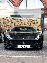 Super Fast (Mattia Manzini Photography) Tags: ferrari 812 superfast supercar supercars cars car carspotting nikon v12 d750 automotive automobili auto automobile uk england london knightsbridge black