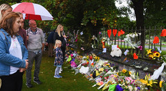 (M J Adamson) Tags: memorial mosqueshooting christchurchmosqueshooting christchurchmosqueterrorattacks christchurch canterbury nz newzealand people