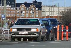1985 Audi Avant 100 stationwagon XD59069 still on the roads of Denmark (sms88aec) Tags: audi 100 stationwagon xd59069 still roads denmark