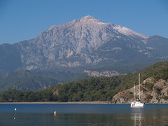 Site of the ancient town of Phaselis, near Antalya, Turkey (with Mount Olympos) (Steve Hobson) Tags: phaselis antalya turkey mediterranean mount olympos