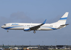 Enter Air 737-800 SP-ENG (birrlad) Tags: dublin dub international airport ireland aircraft aviation airplane airplanes airline airliner airlines airways rugby charter flight french enterair boeing b737 b738 737800 7378cx speng grenoble