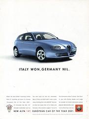 2005 Alfa Romeo Alfa 147 3 Door Hatchback Aussie Original Magazine Advertisement (Darren Marlow) Tags: 1 2 4 5 7 20 2005 a alfa r romeo 147 h haqtchback c car cool collectible collectors classic automobile v vehicle i italy italian e european europe 00s
