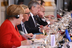 EPP Summit, Brussels, March 2019 (More pictures and videos: connect@epp.eu) Tags: eppsummit brussels march2019 epp european people's party summit march 2019 jeanclaude juncker president commission angela merkel federal chancellor germany antonio tajani parliament peoples