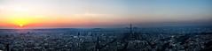 La tour et le couchant (Daniel_Hache) Tags: montvalérien sunset eiffeltower coucherdesoleil soleil toureiffel panorama danielhache paris sun france fr
