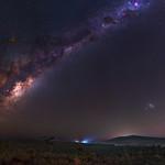 Milky Way at Sullivan Rock, Western Australia thumbnail