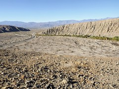 looking down 1000-palms canyon from hilltop (h willome) Tags: 2018 desert coachellavalleypreserve