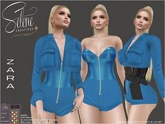 [Selene Creations] Zara / Exclusive @ Swank (Selene Morgan) Tags: rumper jacket belt zara swank