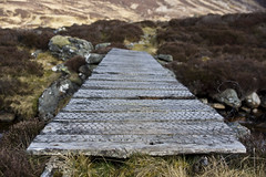 Who's That Trip Trapping Over My Bridge? (steve_whitmarsh) Tags: aberdeenshire scotland scottishhighlands highlands mountain hills bridge cairngorms topic abigfave