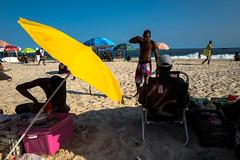 Rio de Janeiro, Brasil. April 2019 (Victor M. Perez) Tags: leicaq leica streetphotography yellow brazil beach praia ipanema brasil riodejaneiro