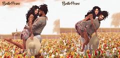@Spring Flair (Antonia Millar / BellePoses) Tags: spring couple bento flair belleposes pose cute romantic sl second life