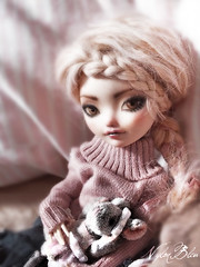 Best wishes for 2019 (NylonBleu) Tags: ever after high doll repaint ooak nylonbleu