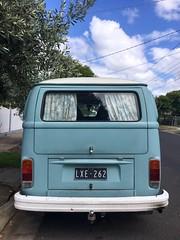 9/375 Baby blue (retrokatz) Tags: blue pastel babyblue volkswagen kombi 365the2019edition 3652019 day9365 09jan19 neighborhood neighbourhood
