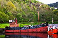 Crinan canal (shanahands2) Tags: boats crinan scotland ship water sea