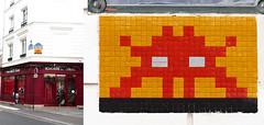Space invader [Paris 16e] (biphop) Tags: europe france paris streetart space invader spaceinvader mur wall installation mosaic mosaique 75016 pa650