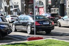 Germany Diplomatic (Benin) - Mercedes-Benz S 350 W221 (PrincepsLS) Tags: germany german diplomatic license plate 35 benin berlin spotting mercedesbenz s 350 w221