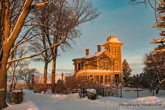 Grandma's house? (Thomas DeHoff) Tags: vicotrian snow sony a77mk2