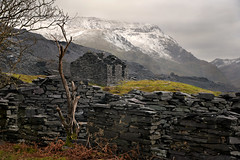 I would happily live there (PentlandPirate of the North) Tags: ruin derelict cottage house snowdonia dinorwic slate quarry northwales gwynedd