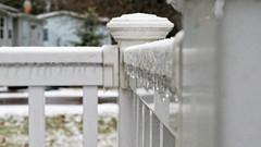 Railing (joeldinda) Tags: sleet weather porch yard potter home ice winter railing omd em1ii 4449 icicles em1 february omdem1mkii olympus mulliken 2019 37365