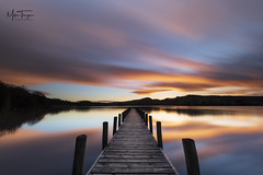 Coniston Dreams. (miketonge) Tags: riggwood jetty coniston lakedistrict lakedistrictnationalpark cumbria sunset longexposure nisi dusk lake peel island peelisland miketongephotographycouk