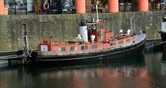 (Sam Tait) Tags: old work tug liverpool england classic vintage funnel albert dock docks