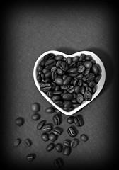 2019 Sydney: B&W Beans (dominotic) Tags: 2019 coffeebeans bw food coffeeheart blackandwhite heartshapedcoffeebeans yᑌᗰᗰy coffeeobsession foodphotography explore macro sydney australia
