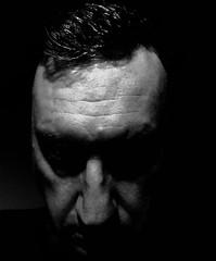 """Forgive me, Father, for I have...lived."" (spratpics) Tags: photographybypaulwalkerpaulwalkerteessideukportaitdarkbritain""forgiveme father forihavelived uk gb teesside england britain darkportrait portrait"
