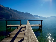 (juliusjoa) Tags: travel alpes picture photo photography landscape france winter lake mountains hautesavoie annecylake