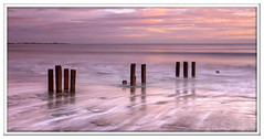 ABC_5356 (Lynne J Photography) Tags: northumberland coast seascapes sunrise water longexposure groynes outfallpipe clouds mono blackwhite pier cambois blyth rocks seatonsluice lighthouse pastel colors dawn light