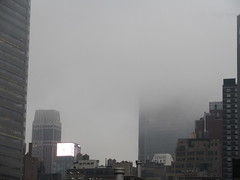 2019 February Monday Fog - President's Day 2011 (Brechtbug) Tags: 2019 february monday fog virtual clock tower from hells kitchen clinton near times square broadway nyc 02182019 new york city midtown manhattan winter weather building breezy cloud hell s nemo southern view