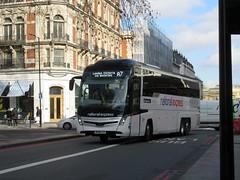 National Express SH243 (Teek the bus enthusiast) Tags: victoria putney bridge route 36 507 london buses go ahead abellio metroline tower transit national express