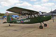 Cessna L19 Bird dog ~ F-AZMX / 16744 (Aero.passion DBC-1) Tags: 2008 meeting dijon dbc1 david biscove aeropassion avion aircraft aviation plane airshow cessna l19 bird dog ~ fazmx 16744