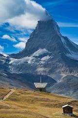Matterhorn Riffelberg Zermatt (appberg) Tags: zermatt wallis alps mountain matterhorn switzerland riffelberg gornergrat chapel kapelle canon g7x bruderklaus nature snow mont cervin outside
