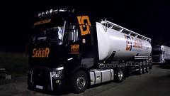 D - Seiler Renault Range T Highsleeper (BonsaiTruck) Tags: spitzer seiler renault range highsleeper lkw lastwagen lastzug silozug truck trucks lorry lorries camion caminhoes silo bulk citerne powdertank