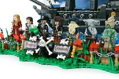 "LEGO the movie "" PIRATES OF THE CARIBBEAN "" (gkdldis1201) Tags: lego moc diorama minifigure minifigures minifig minifigs mini figure creation custom movie piratesofthecaribbean pirates caribbean jacksparrow williamturner elizabethswann hectorbarbossa davyjones maccus hadras johnnydepp orlandobloom ship miniblackpearl blackpearl"