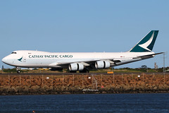 Cathay Pacific Cargo B747 B-LJA 01-10-2018 Sydney (Annette_747) Tags: cargo b747800 cathaypacificcargo freighter sydney airport canon photography