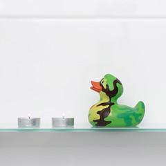11/52 sobre mi estantería (marta fg) Tags: creatividad creativephoto moments duck bath stilllife