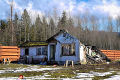 (Once was a Home)  Abandoned (SonjaPetersonPh♡tography) Tags: mapleridge bc britishcolumbia canada nikon nikond5300 abandoned house abandonedhouse abandonedhome delapitated