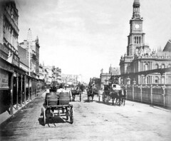 George St, Sydney in 1892 (Static Phil) Tags: georgest sydney 1892 history