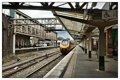 Con Virgin Lines (david.hayes77) Tags: chester cheshire station architecture victoriana victoria steelwork class221 bombardier 221107 supervoyager virgin converginglines 1a53 pointofconvergence virgintrains