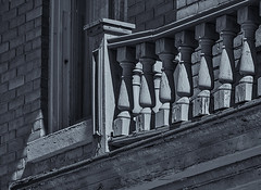 Architectural Detail 2    # 33  ... (c)rebfoto (rebfoto..away on assignment..) Tags: architecture rebfoto architecturalphotography monochrome blackandwhite