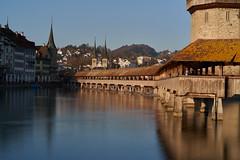 chapel bridge (ivoräber) Tags: chapel bridge lucerne luzern sony switzerland schweiz swiss systemkamera suisse