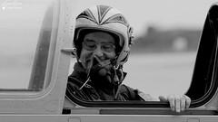 """Yann """"Fluo"""" (Laurent Quérité) Tags: canonfrance canoneos7d canonef100400mmf4556lisusm noirblanc blackwhite portrait pilote man homme aviation avion aéronef aéronavale aéronautiquenavale marinenationale fouga zéphyr cm175 nîmesgarons france fazpf"""