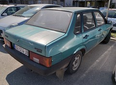 1998 Lada Samara Sedan 1500S (FromKG) Tags: lada vaz samara 1500s 21099 sedan blue car kragujevac serbia 2019